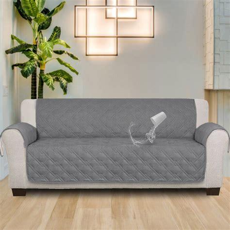100 % Waterproof Non-Skip Box Cushion Sofa Silpcover